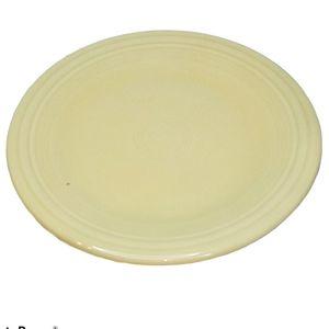 Fiestaware Plate Fiesta Dinner Ivory Homer Laughli